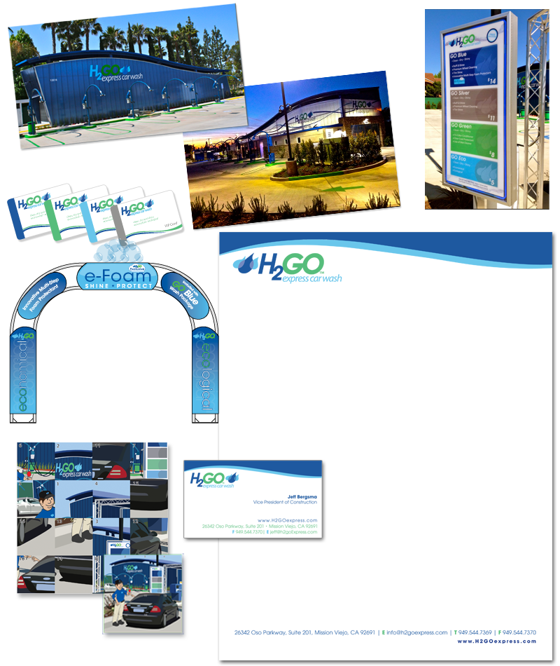 Colorado Springs Graphic Design | H2Go