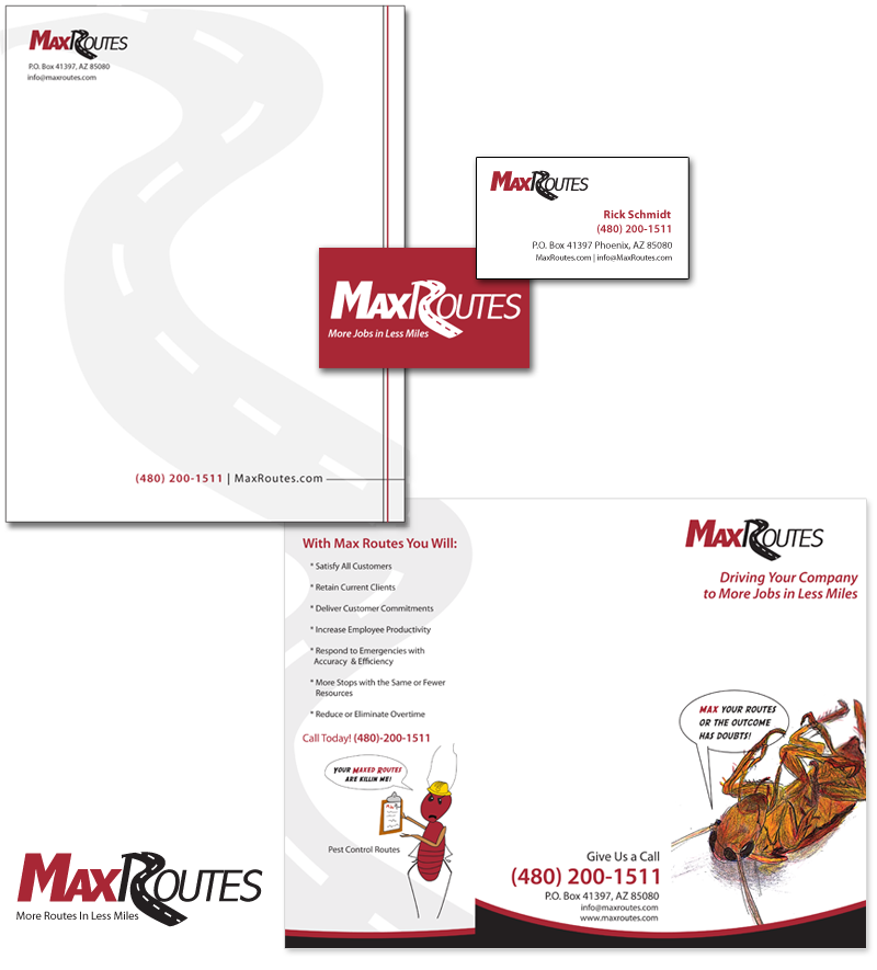 Colorado Springs Graphic Design | MAx Routes